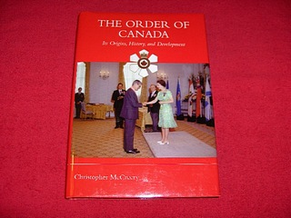 Image for The Order of Canada: Its Origins, History, And Development