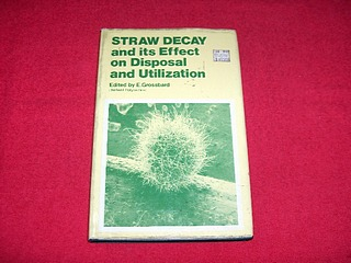 Image for Straw Decay and Its Effect on Disposal and Utilization: Proceedings of a Symposium on Straw Decay and Workshop on Assessment Techniques, Held at Hatfield Polytechnic, April 10-11th 1979