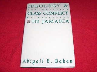 Image for Ideology and Class Conflict in Jamaica : The Politics of Rebellion