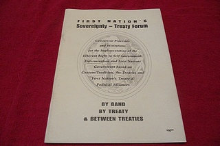 Image for First Nation's Sovereignity - Treaty Forum