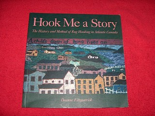 Image for Hook Me a Story : The History and Method of Rug Hooking in Atlantic Canada