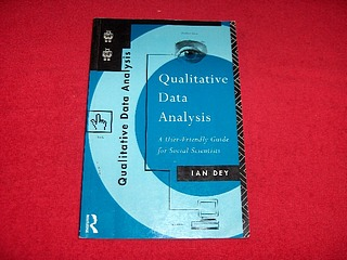 Image for Qualitative Data Analysis : A User-Friendly Guide for Social Scientists