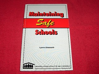 Image for Maintaining Safe Schools