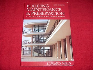Image for Building Maintenance and Preservation: A Guide for Design and Management [Second Edition]