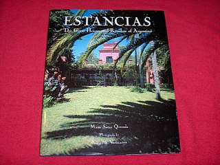Image for Estancias : The Great Houses and Ranches of Argentina