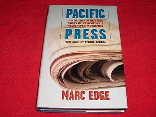 Image for Pacific Press : The Unauthorized Story of Vancouver's Newspaper Monopoly