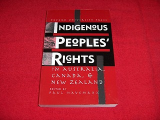 Image for Indigenous People's Rights in Australia, Canada & New Zealand