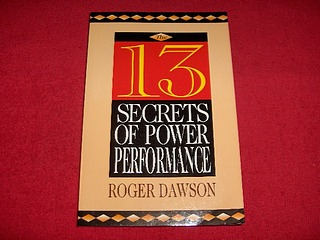 Image for The 13 Secrets of Power Performance