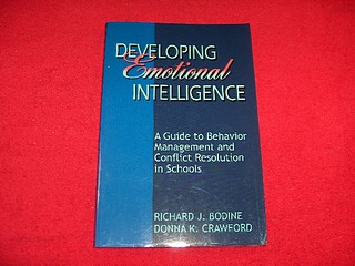 Image for Developing Emotional Intelligence : A Guide to Behavior Management and Conflict Resolution in Schools
