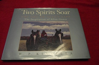Image for Two Spirits Soar : The Art of Allen Sapp the Inspiration of Allan Gonor