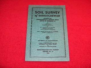 Image for Soil Survey of Saskatchewan Covering the Agriculturally Settled Areas North of Township 48