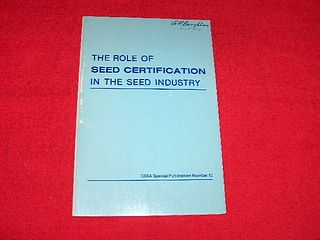 Image for Role of Seed Certification in the Seed Industry