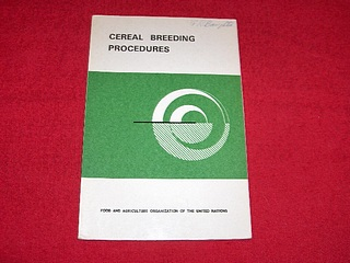 Image for Cereal Breeding Procedures