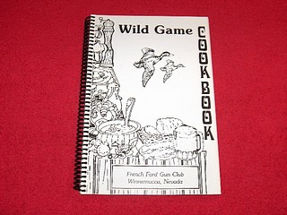 Image for Wild Game Cookbook, French Ford Gun Club, Winnemucca, Nevada