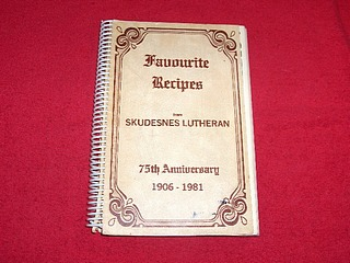 Image for Favourite Recipes from Skudesnes Lutheran, 75th Anniversary, 1906-1981 [Loreburn, Saskatchewan]