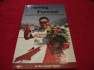 Image for Moving Forward : The Journey of Paralympian Colette Bourgonje