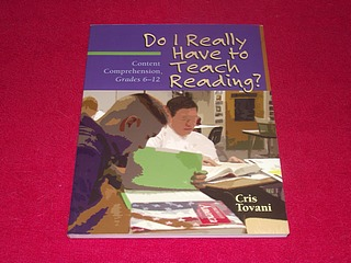 Image for Do I Really Have to Teach Reading?: Content Comprehension, Grades 6-12