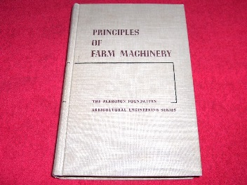 Image for Principles of Farm Machinery