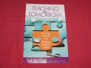 Image for Teaching for Tomorrow : Teaching Content and Problem-Solving Skills