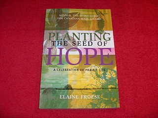 Image for Planting the Seed of Hope : A Celebration of Prairie Life