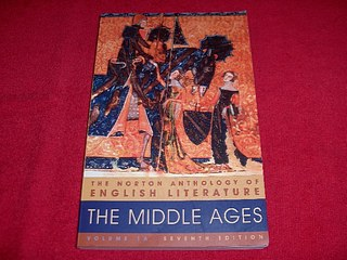 Image for The Norton Anthology of English Literature: Middle Ages [Seventh Edition]