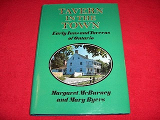 Image for Tavern in the Town : Early Inns and Taverns of Ontario