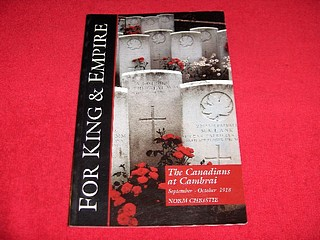 Image for The Canadians at Cambrai : September - October 1918 : A Social History and Battlefield Tour [For King and Empire, Volume VI]