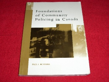 Image for Foundations of Community Policing in Canada