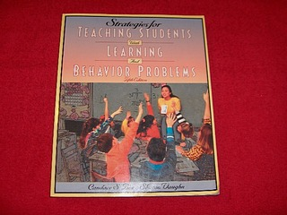 Image for Strategies for Teaching Students With Learning and Behavior Problems [Fifth Edition]